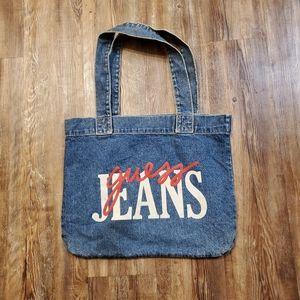 Vintage guess tote bag